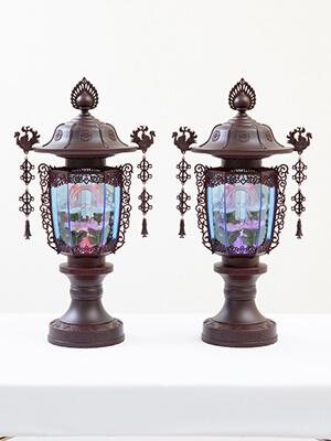 オーロラ灯1号(高さ39cm)